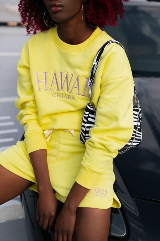 Chiara BLUZA HAWAII - YELLOW
