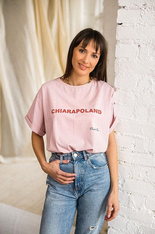 Chiara T-SHIRT THANK YOU -...